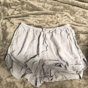 High waisted flowy shorts